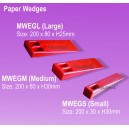 11. Paper Wedges