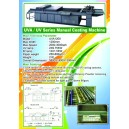 UVA/UV Series Manual Coating Machine